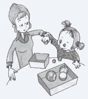 Развивающие игры для малышей от 1 года до 3 лет. 2-й год жизни. 1  часть