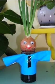 Поделка из луковицы